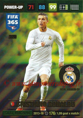 2016-17 - Panini Adrenalyn XL FIFA 365 - N° 373 - Cristiano RONALDO (Real Madrid CF) (Goal Machine)