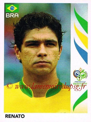 2006 - Panini FIFA World Cup Germany Stickers - N° 390 - RENATO (Brésil)
