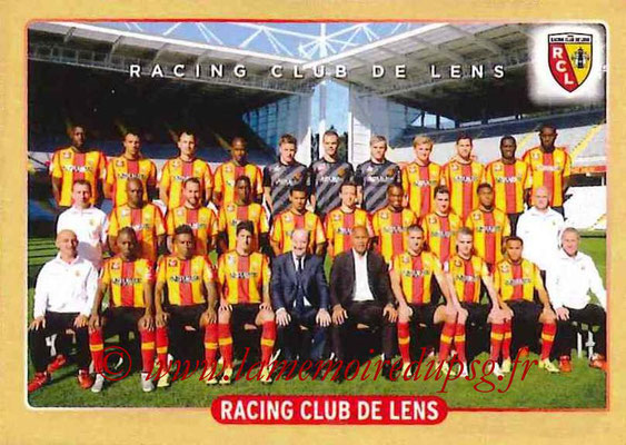 2015-16 - Panini Ligue 1 Stickers - N° 502 - Equipe RC Lens