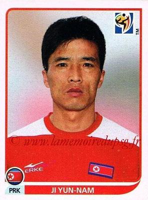 2010 - Panini FIFA World Cup South Africa Stickers - N° 513 - Ji YUN-NAM (Corée du Nord)