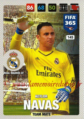 2016-17 - Panini Adrenalyn XL FIFA 365 - N° 145 - Keylor NAVAS (Real Madrid CF)