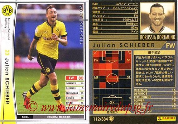 2012-13 - WCCF - N° 112 - Julian SCHIEBER (Borussia Dortmund)