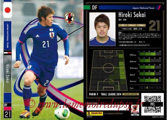 Panini Football League 2014 - PFL06 - N° 133 - Hiroki SAKAI (Japon)