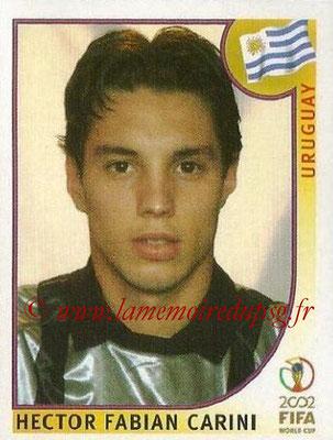 2002 - Panini FIFA World Cup Stickers - N° 063 - Hector Fabian CARINI (Uruguay)
