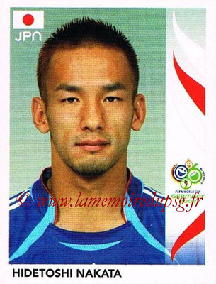 2006 - Panini FIFA World Cup Germany Stickers - N° 447 - Hidetoshi NAKATA (Japon)