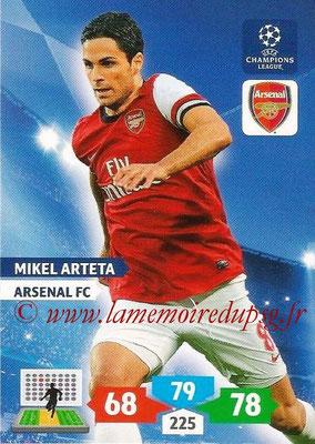 N° 049 - Mikel ARTETA (Janv 2001-02, PSG > 2013-14, Arsenal, ANG)