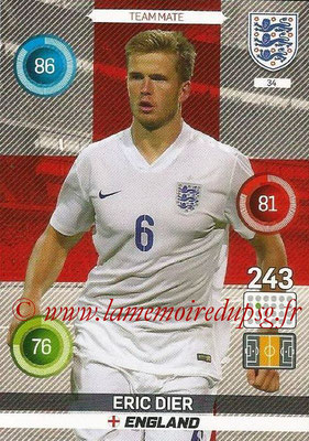Panini England 2016 Adrenalyn XL - N° 034
