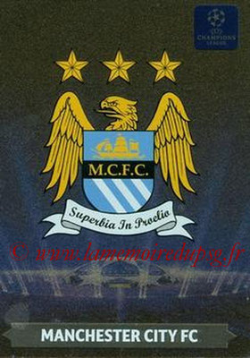 2013-14 - Adrenalyn XL champions League N° 017 - Manchester City FC