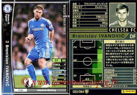 2012-13 - WCCF - N° 022 - Branislav IVANOVIC (Chelsea FC)
