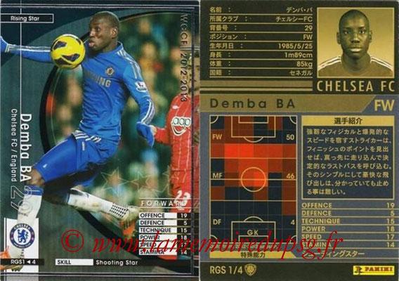 2012-13 - WCCF - N° RGS1 - Demba BA (Chelsea FC) (Rising Star)
