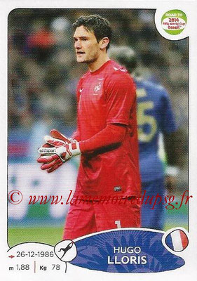 2014 - Panini Road to FIFA World Cup Brazil Stickers - N° 091 - Hugo LLORIS (France)