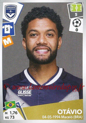 2017-18 - Panini Ligue 1 Stickers - N° 062 - OTAVIO (Bordeaux)