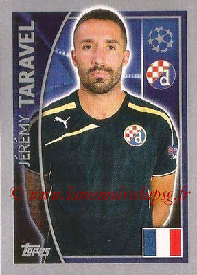 2015-16 - Topps UEFA Champions League Stickers - N° 427 - Jérémy TARAVEL (GNK Dinamo Zagreb)