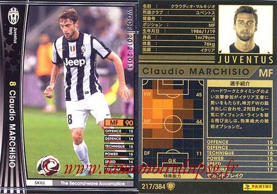 2012-13 - WCCF - N° 217 - Claudio MARCHISIO (Juventus FC)