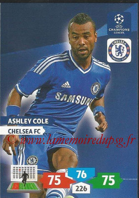 2013-14 - Adrenalyn XL champions League N° 120 - Ashley COLE (Chelsea FC)