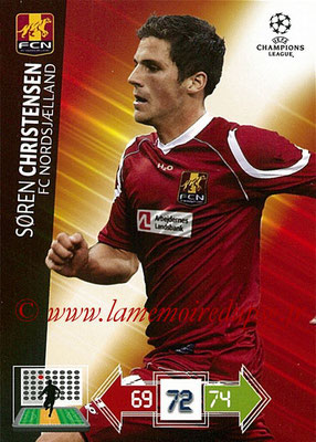 2012-13 - Adrenalyn XL champions League N° 180 - Soren CHRISTENSEN (FC Nordsjaelland)