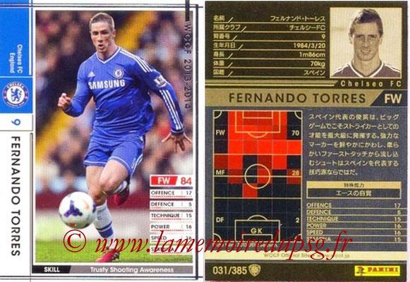 2013-14 - WCCF - N° 031 - Fernando TORRES (Chelsea FC)