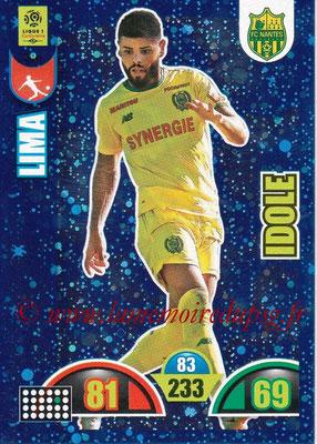 2018-19 - Panini Adrenalyn XL Ligue 1 - N° 380 - LIMA (Nantes) (Idole)