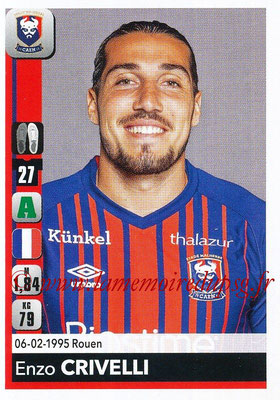 2018-19 - Panini Ligue 1 Stickers - N° 094 - Enzo CRIVELLI (Caen)
