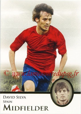 2013 - Futera World Football Unique - N° 056 - David SILVA (Espagne) (Midfielder)
