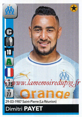 2018-19 - Panini Ligue 1 Stickers - N° 220 - Dimitri PAYET (Marseille)