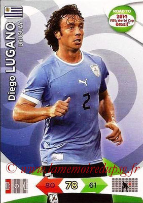 N° 185 - Diego LUGANO (2011-13, PSG > 2014, Uruguay)