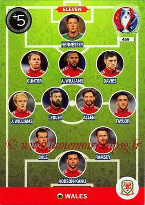 Panini Euro 2016 Cards - N° 459 - Équipe Type de Pays de Galles