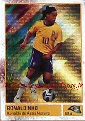 N° 343 - RONALDHINO (2001-03, PSG > 2011, Brésil) (In action)