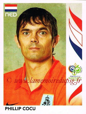 2006 - Panini FIFA World Cup Germany Stickers - N° 235 - Phillip COCU (Pays Bas)