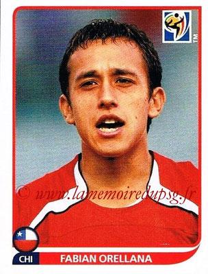 2010 - Panini FIFA World Cup South Africa Stickers - N° 633 - Fabian ORELLANA (Chili)