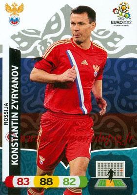Panini Euro 2012 Cards Adrenalyn XL - N° 197 - Konstantin ZYRYANOV (Russie)