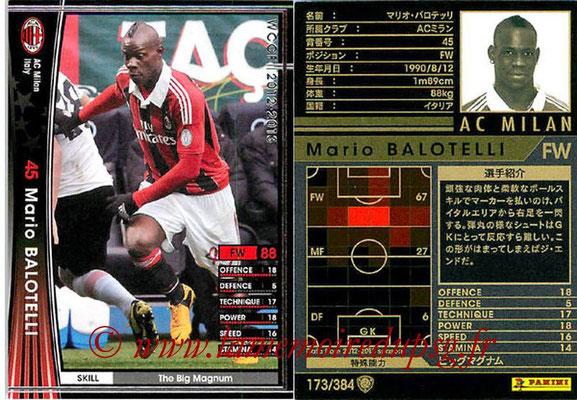 2012-13 - WCCF - N° 173 - Mario BALOTELLI (Milan AC)