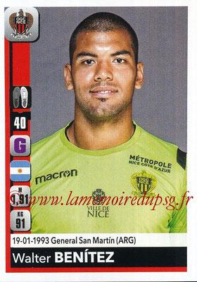 2018-19 - Panini Ligue 1 Stickers - N° 302 - Walter BENITEZ (Nice)
