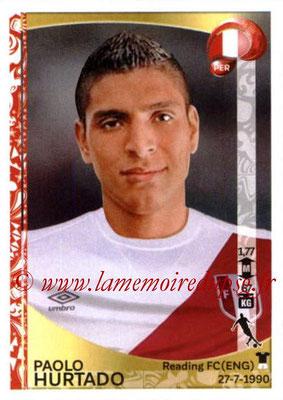 Panini Copa America Centenario USA 2016 Stickers - N° 202 - Paolo HURTADO (Perou)