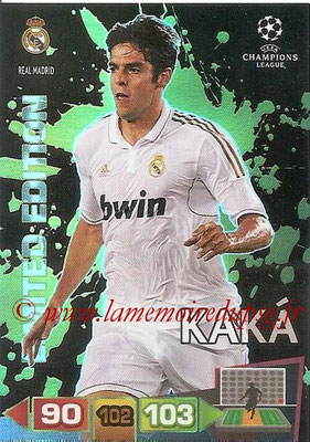 2011-12 - Panini Champions League Cards - N° LE38 - KAKA (Real Madrid CF) (Limited Edition)