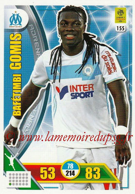 2017-18 - Panini Adrenalyn XL Ligue 1 - N° 155 - Bafétimbi GOMIS (Marseille)