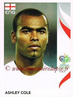 2006 - Panini FIFA World Cup Germany Stickers - N° 098 - Ashley COLE (Angleterre)