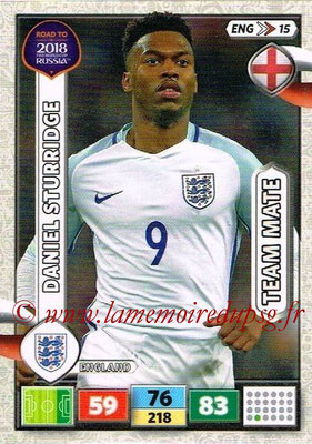 2018 - Panini Road to FIFA World Cup Russia Adrenalyn XL - N° ENG15 - Daniel STURRIDGE (Angleterre)