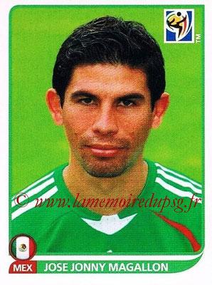 2010 - Panini FIFA World Cup South Africa Stickers - N° 054 - Jose Jonny MAGALLON (Méxique)