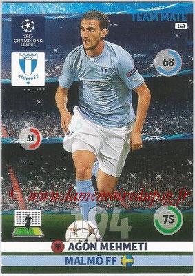2014-15 - Adrenalyn XL champions League N° 168 - Agon MEHMETI (Malmö FF)