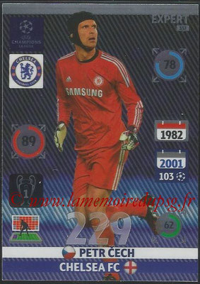2014-15 - Adrenalyn XL champions League N° 337 - Petr CECH (Chelsea FC) (Expert)