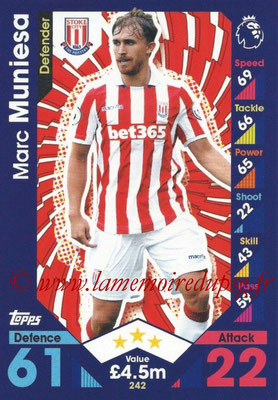 2016-17 - Topps Match Attax Premier League - N° 242