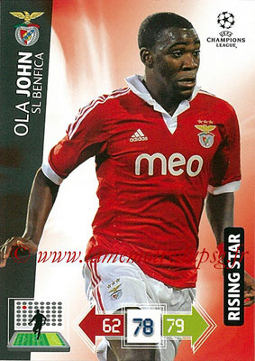 2012-13 - Adrenalyn XL champions League N° 068 - Ola JOHN (SL Benfica) (Rising Star)