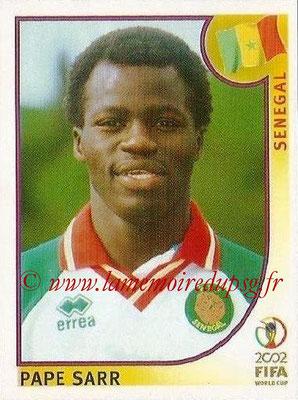 2002 - Panini FIFA World Cup Stickers - N° 053 - Pape SARR (Sénégal)