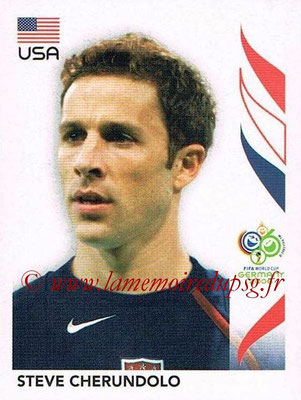 2006 - Panini FIFA World Cup Germany Stickers - N° 345 - Steve CHERUNDOLO (États Unis)