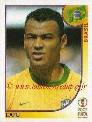 2002 - Panini FIFA World Cup Stickers - N° 172 - CAFU (Brésil)