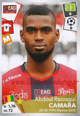 2017-18 - Panini Ligue 1 Stickers - N° 140 - Abdoul Razzagui CAMARA (Guingamp)