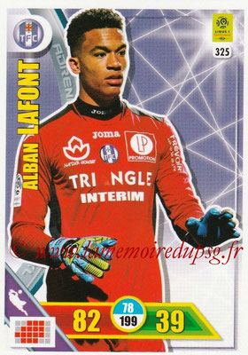2017-18 - Panini Adrenalyn XL Ligue 1 - N° 325 - Alban LAFONT (Toulouse)
