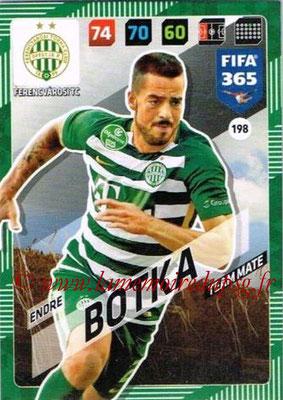 2017-18 - Panini FIFA 365 Cards - N° 198 - Endre BOTKA (Ferencvaros TC)