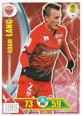 2017-18 - Panini Adrenalyn XL Ligue 1 - N° 075 - Adam LANG (Dijon)